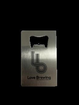 Love Brewing Bottle Opener