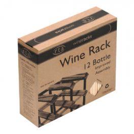 Wine Rack - Self-assembly 12 bottle