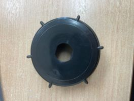 Barrel Cap P.D with Seal and Hole (to take valve) - 2 inch