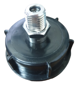 """2"""" PD Barrel Top - With S30 Valve"""