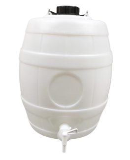 Barrel P.D. 5 Gallons (24 Litres) with P.D. Barrel Tap and Pressure Release Cap