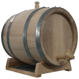 25 Litre Oak Barrel for Wine and Spirits