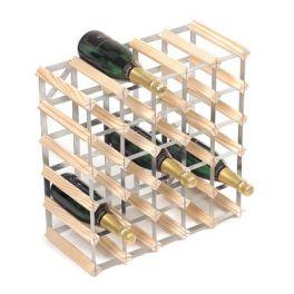 Wine Rack - Assembled 30 bottle (Natural Pine)