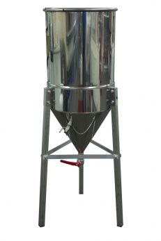 50 Litre Conical Fermenter with Stand