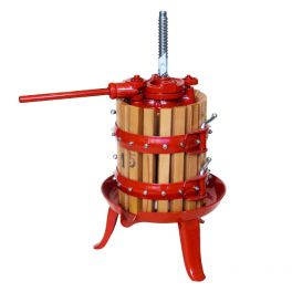 5 Litre Spindle Fruit Press (X1) - Ideal for Grapes and fruit