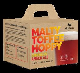 Muntons Flagship MALTY TOFFEE HOPPY AMBER ALE