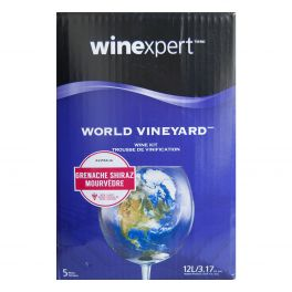 World Vineyard Australian Grenache/Shiraz with Grape Skins Wine Kit
