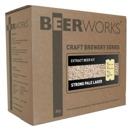 Strong Pale Lager - Beerworks Part Grain