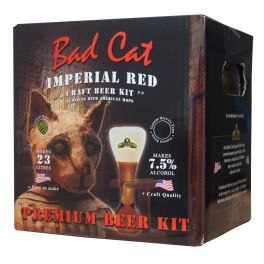 Bulldog Bad Cat Imperial Red