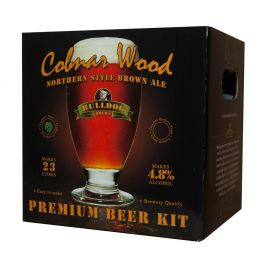 Bulldog Brews Cobnar Wood Brown Ale Beer Kit
