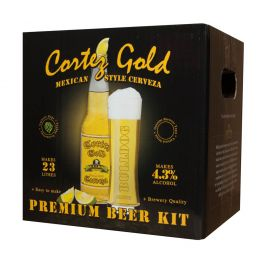 Bulldog Brews Cortez Gold Beer Kit