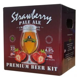 Bulldog Brews Strawberry Pale Ale