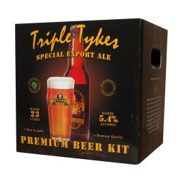 Bulldog Brews Triple Tykes Beer Kit