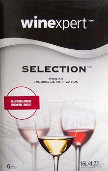 Winexpert Selection California White Zinfandel (Rose) Wine Kit