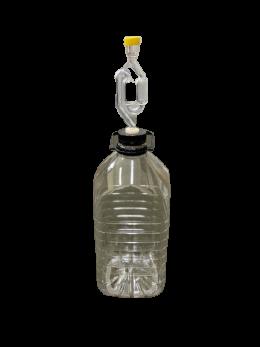 5 Litre Fermenter with Grommet & Airlock