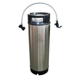 cornelius-keg-5-us-gallons-19-litre-with-black-disconnect-tap-hose