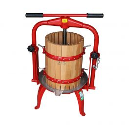 20 Litre Traditional Cross Beam Fruit Press (F25) - Ideal for Apples