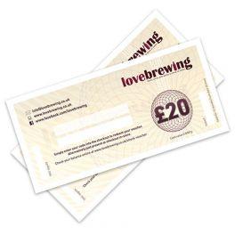 £20 Home Brew Gift Voucher