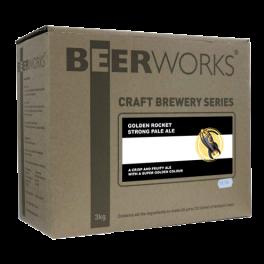 Beerworks Golden Rocket Beer Kit