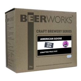 American Goose Superior Crafted Pale Ale LE - Beerworks Craft Brewery Series