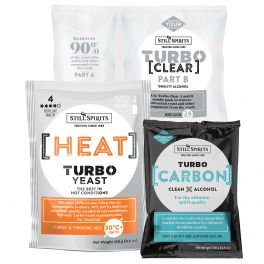 Still Spirits Heat Carbon and Clear Triple Pack