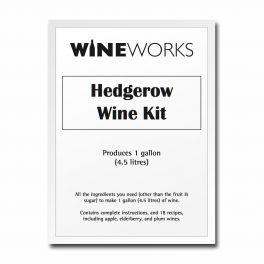 4.5 Litre (1 Gallon) Hedgerow Wine Kit