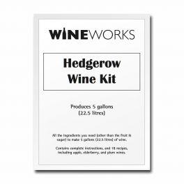 22.5 Litre (5 Gallon) Hedgerow Wine Kit