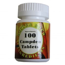 Campden Tablets (Sodium Metabisulphate) Pack of 100