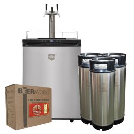 Kegerator - Love Brewing Signature Bundle