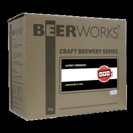 Lucky Freedom Grapefruit APA - Beerworks Craft Brewery Series