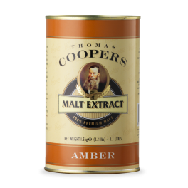Coopers Malt Extract - Amber (Medium) Liquid Malt 1.5kg