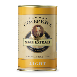 Coopers Malt Extract - Light Liquid Malt 1.5kg