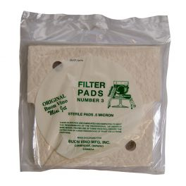 *** MINI JET*** Filter Pads No.3 sterile (Pack of 3)