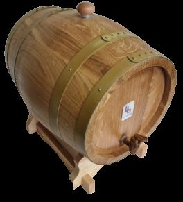 10 Litre Oak Barrel for Wine and Spirits