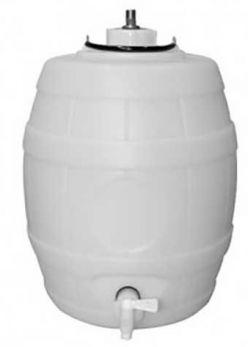 25 Litre (5 Gallon) Bottom Tap Pressure Barrel Complete