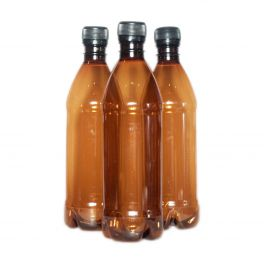 500ml PET Bottles with Screw Caps (Pack of 48)