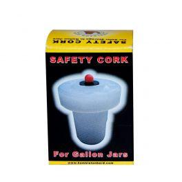 Safety Stopper for 1 Gallon Demijohn