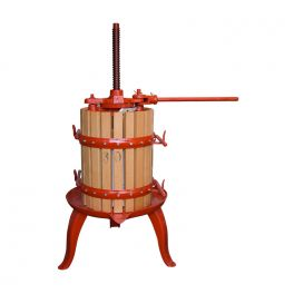 11 Litre Spindle Fruit Press (X2) - Ideal for Grapes and fruit