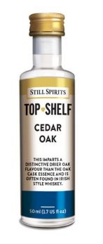 Top Shelf Flavour Additives - Cedar Oak
