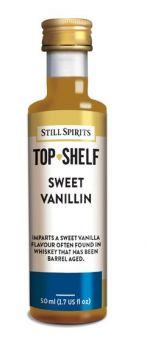 still spirits vlavour additives sweet vanillin
