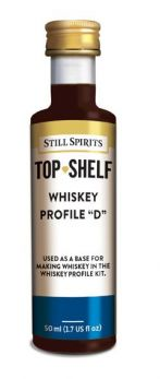 still spirits flavouor additives whiskey profile D