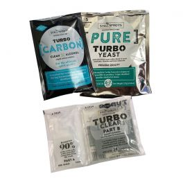 Still Spirits Pure Yeast, Carbon and Clear Triple Pack