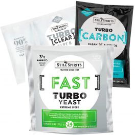 Fast (previously Express) Turbo Yeast , Turbo Carbon & Turbo Clear (Triple Pack)