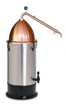 T500-Boiler-Alembic-Copper-Dome-and-Alembic-Copper-Condensor