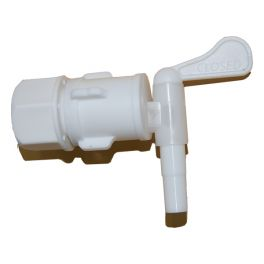 Bucket tap with one washer and backing nut