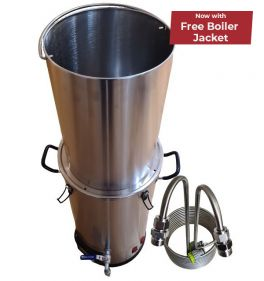 Spiritworks Boiler with Sparge Grain Holder and Wort Chiller