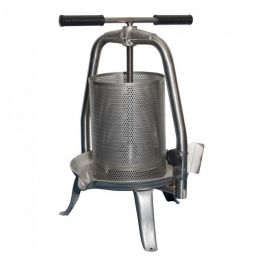All Stainless Cross Beam Press with Mesh Basket - V25 INOX