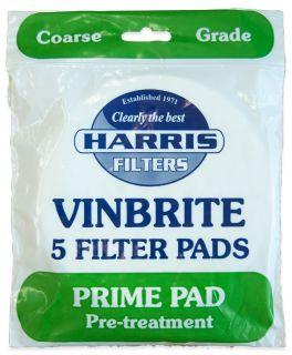 Harris Prime Pads for Vinbrite Filter