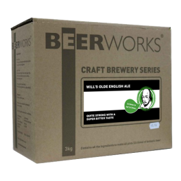 Beerworks Will's Olde English Ale Beer Kit