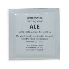 Wineworks Real Ale Yeast 5g Sachet